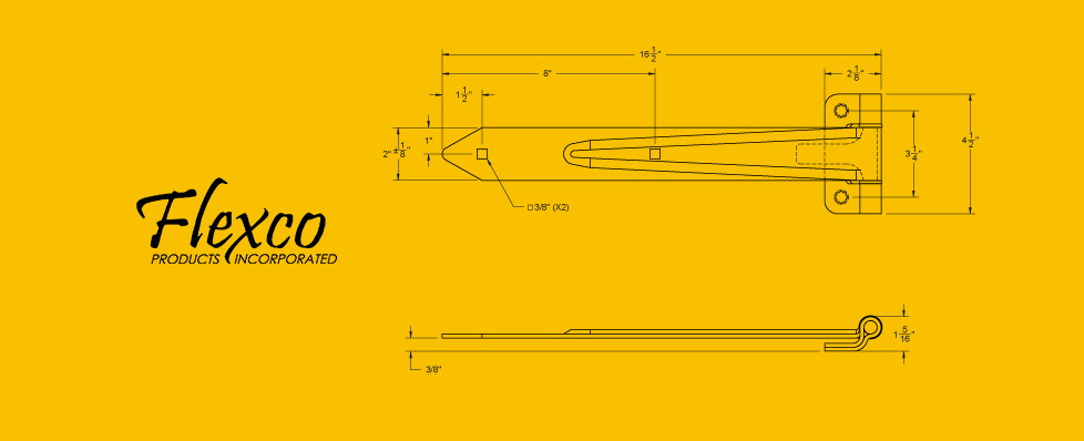 Hinge 80704 Drawing rv