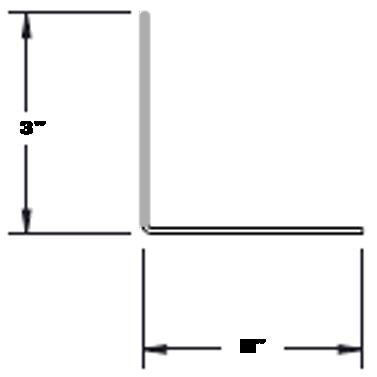 "Roll Form Angle - ¾"" x ¾"" up to 2-1/2"" x 2-1/2"", 16 Ga – 10 Ga material"